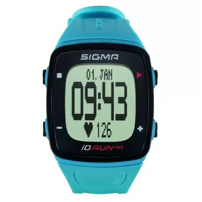 Часы спортивные SIGMA SPORT iD.RUN light blue